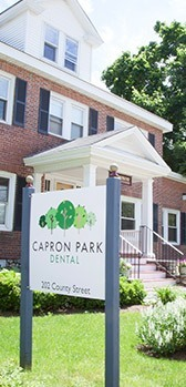 Capron Park Dental exterior sign