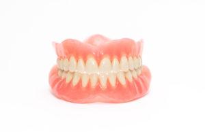 brand new set of full dentures