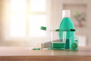 Toothbrush, mouthwash, floss, and other oral hygiene products